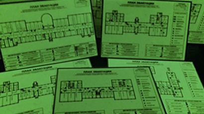 изготовление фотолюминесцентных планов эвакуации